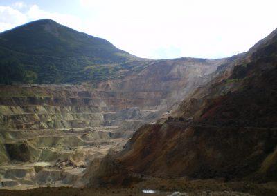 Negoiul Romanesc sulfur quarry